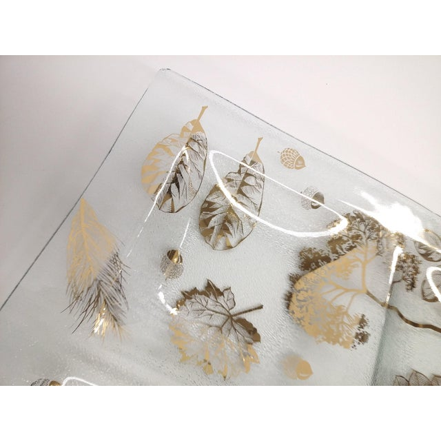 Mid-Century Modern Four-Section Botanical Tray - Image 6 of 10