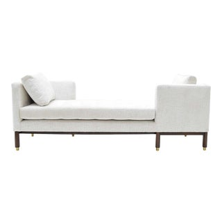 1950s Vintage Dunbar Tête-à-Tête Sofa by Edward Wormley For Sale