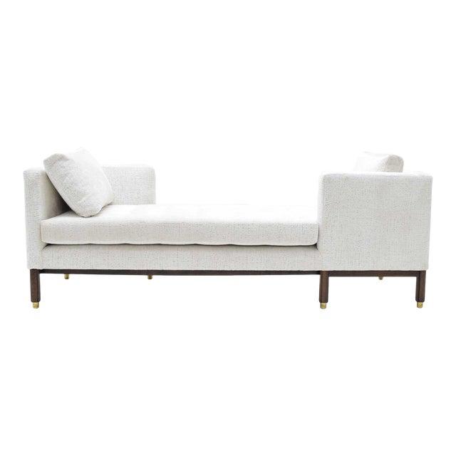 1950s Vintage Dunbar Tête-à-Tête Sofa by Edward Wormley For Sale