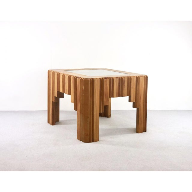 Early 20th Century Paul Follot Coffee Table by Paul Follot From 1929 in Wood For Sale - Image 5 of 5