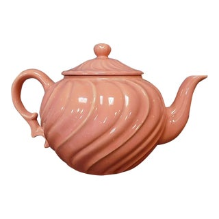 Franciscan Dusty Rose Teapot For Sale