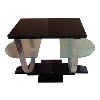1930 French Art Deco Table by Jacques Adnet, Paris For Sale