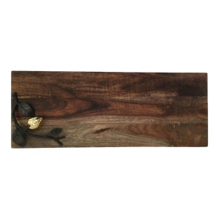 Vintage Michael Aram Cheese Serving Board For Sale