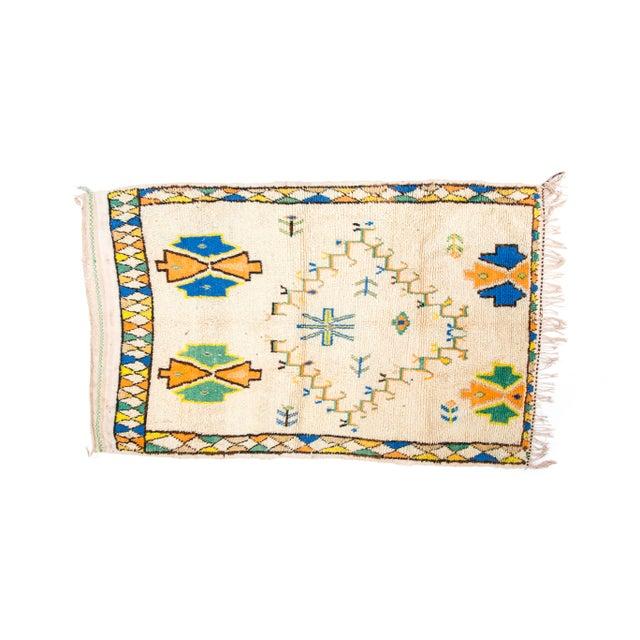 Handloomed Azilal Wool Rug - 4′ × 7′ - Image 2 of 2