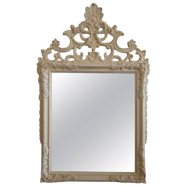 Rococo Heavily Patinated Mirror - Image 1 of 8
