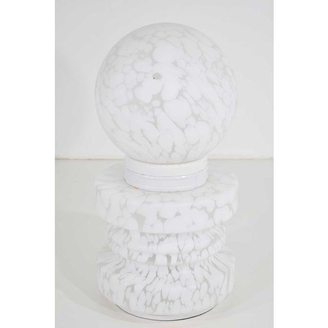 Glass 1960's Vistosi Cumulus Murano Glass Totem Lamp For Sale - Image 7 of 9