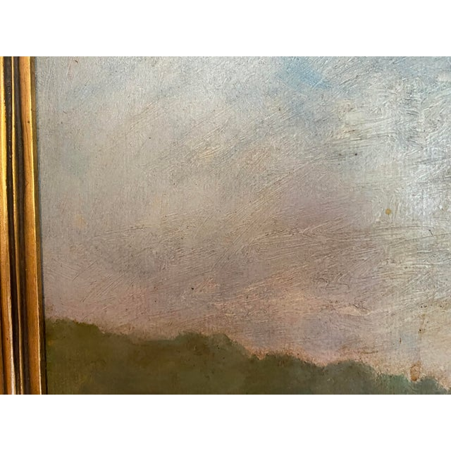 Vintage Signed Oil on Canvas Framed Painting For Sale In Los Angeles - Image 6 of 13