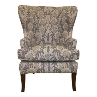 Vintage Wingback Chair For Sale