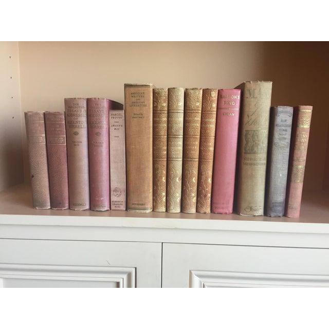 Antique Pastel Books - Set of 14 - Image 5 of 6