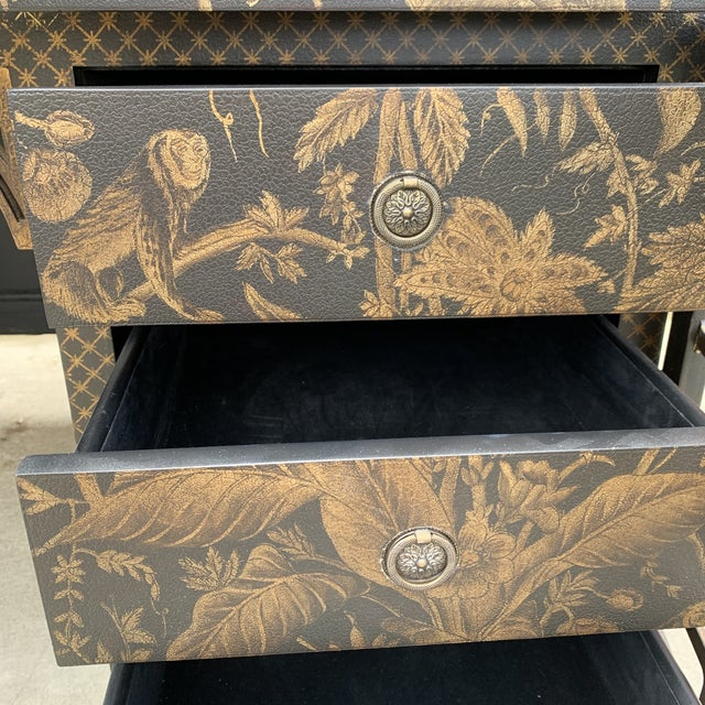 Drexel Heritage Mandalay Chinoiserie Desk For Sale - Image 9 of 13