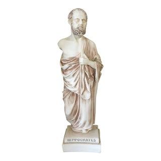1960s Vintage Hippocrates Statue For Sale