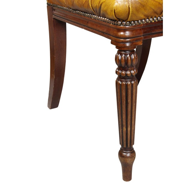 Wood Regency Style Mahogany Dining Room / Conference Room Chairs - Set of 20 For Sale - Image 7 of 11