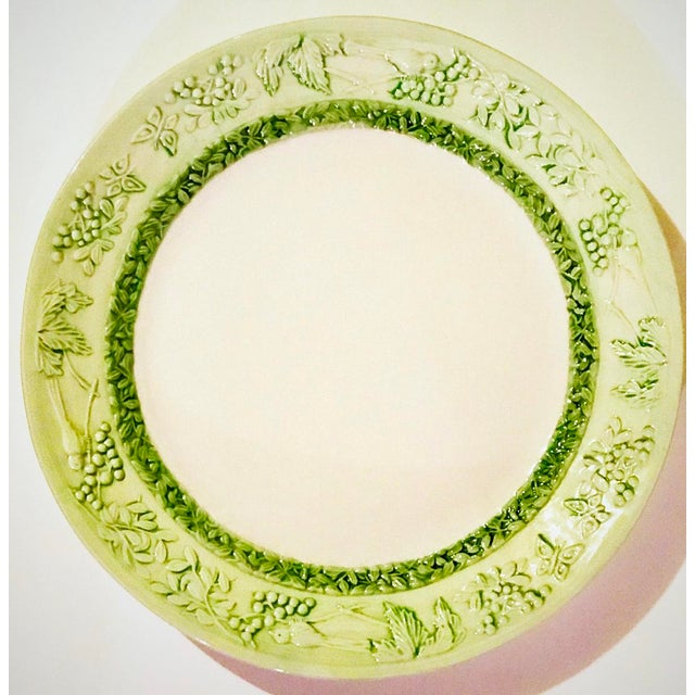 Italian Hand Painted Serving Platter For Sale In Chicago - Image 6 of 6