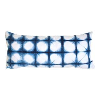 Shibori Lumbar Pillow For Sale