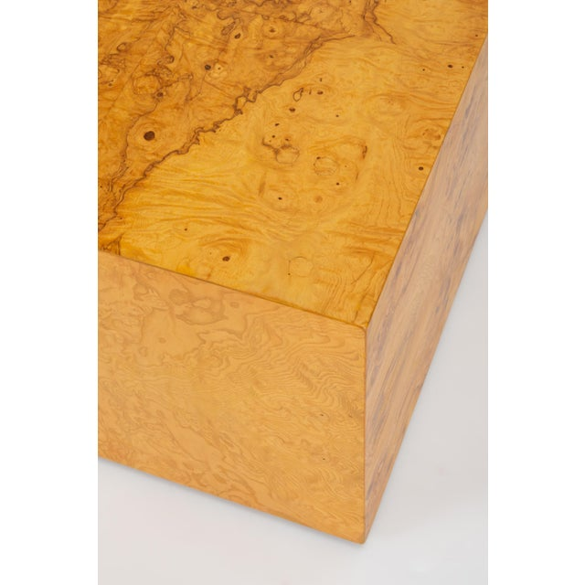 Pair of Burl Wood Side Tables or Blanket Chests For Sale - Image 10 of 11