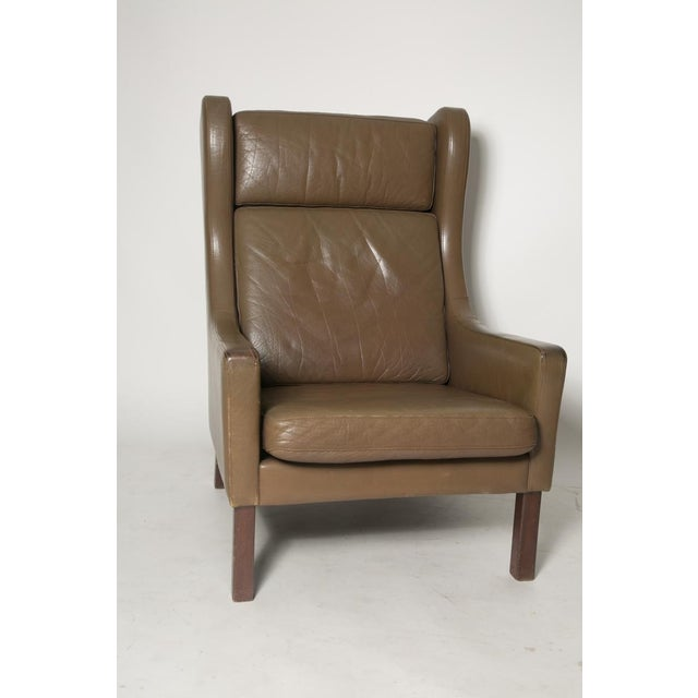 Borge Mogensen Wingback Chairs - Set of Two For Sale - Image 7 of 7