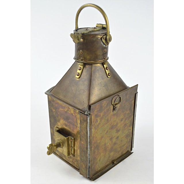 19th Century Marine Starboard Signal Lantern - Image 4 of 6