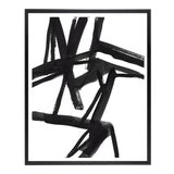 """Image of Large Black and White Abstract Modern Art - """"Shadows #2"""" Unframed Giclée Print For Sale"""