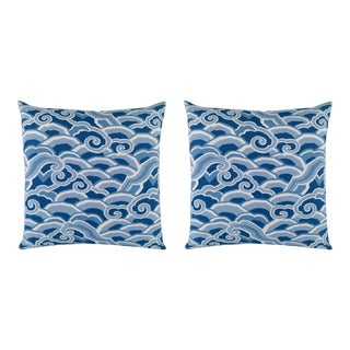 "Kravet Decowaves 20"" Pillows - a Pair For Sale"