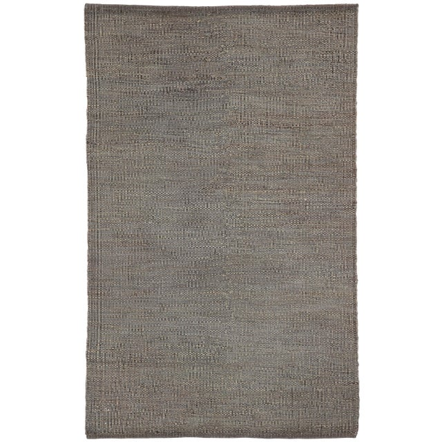 Jaipur Living Anthro Natural Dark Gray Area Rug - 8′ × 10′ For Sale