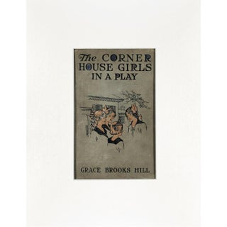 "Vintage ""The Corner House Girls in a Play"" Book Cover Art For Sale"