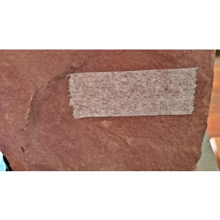 11th C. Asian Antique Red Sandstone Pot Bellied Vishnu Carving Preview