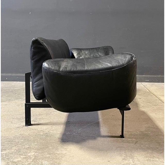 A functional sofa, model DS 140, Swiss design by Reto Frigg for de Sede. Original condition.
