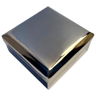 Silver Plate Box For Sale