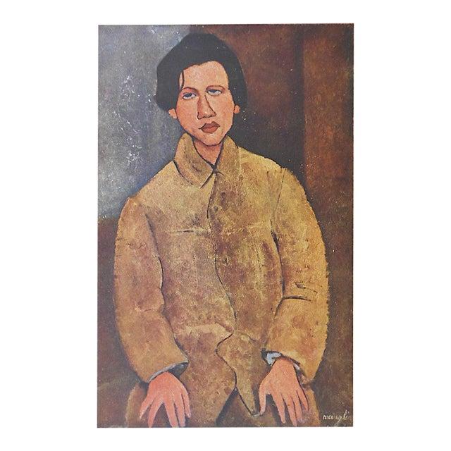 Vintage Ltd. Ed. Modernist Lithograph-Amadeo Modigliani-Folio Size - Image 1 of 3