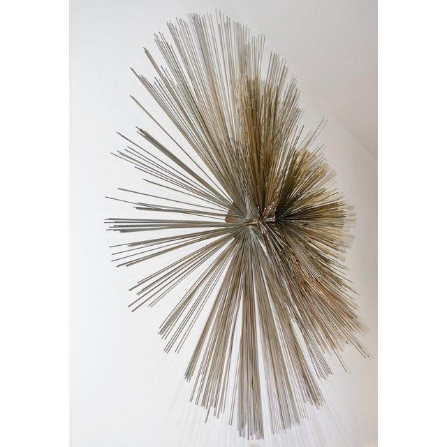 Artisan House Mid-Century Modern Pom Pom Wall Sculpture by Curtis Jere For Sale - Image 4 of 9