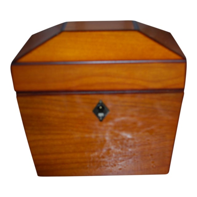 Yew Wood Box For Sale