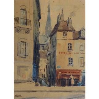 Pierre Thibault, Paris - Rue Des Chantres For Sale