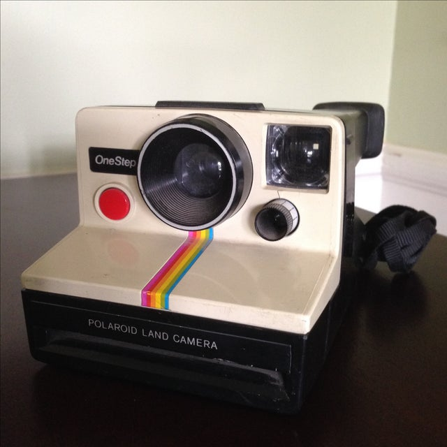 Mid-Century Modern Vintage Polaroid One Step Land Camera For Sale - Image 3 of 11