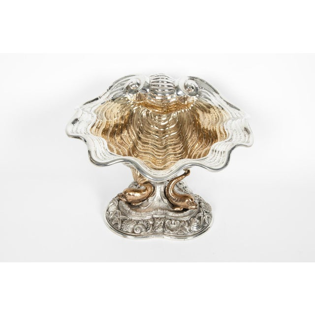 Large Antique Sterling Silver Centerpiece For Sale - Image 4 of 13