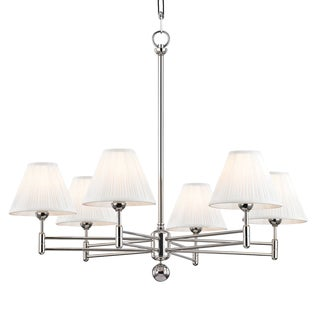 Classic No.1 6 Light Chandelier For Sale