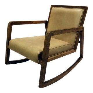 Modern Craftsman Lounge Rocking Chair