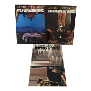 Architectural Digest Books - Set of 3 For Sale
