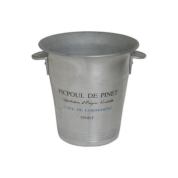 Vintage French Bistro Champagne Bucket - Image 1 of 4