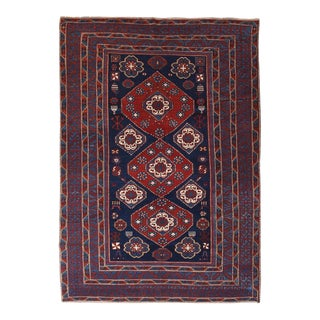 Antique Shirvan Russian Rug For Sale