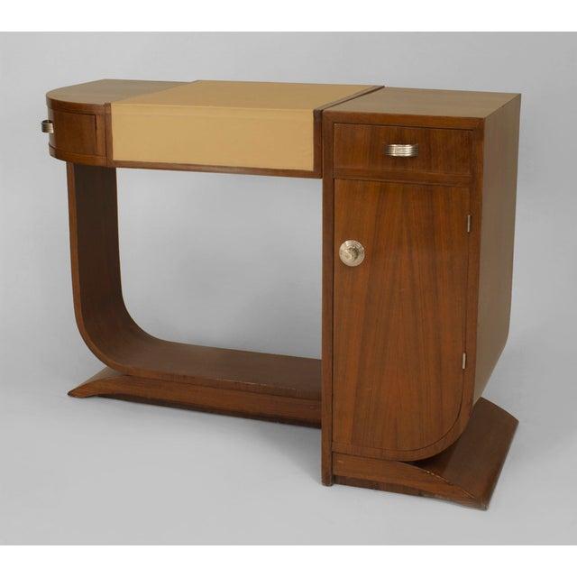 Mahogany French Art Deco Mahogany Dressing For Sale - Image 7 of 7