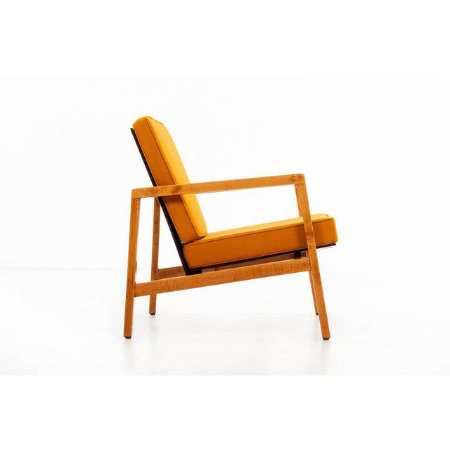 Knoll International Lewis Butler Pair of Arm Chairs For Sale - Image 4 of 10