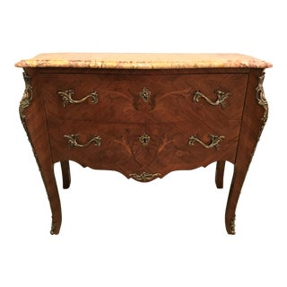 19th Century Antique Louis XV Style Commode For Sale