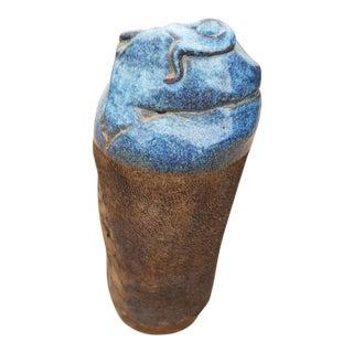 Fantastic 60s Brutalist Vase