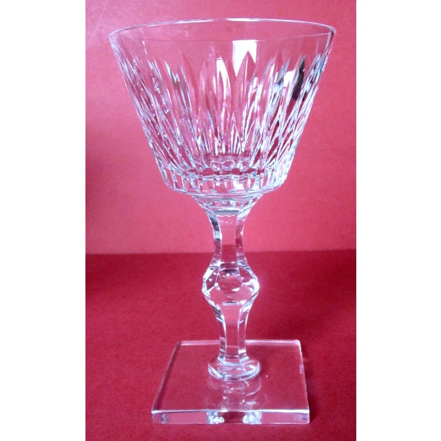 Hawkes Champagne/Sherbet Crystal Stems - Set of 9 For Sale - Image 9 of 10