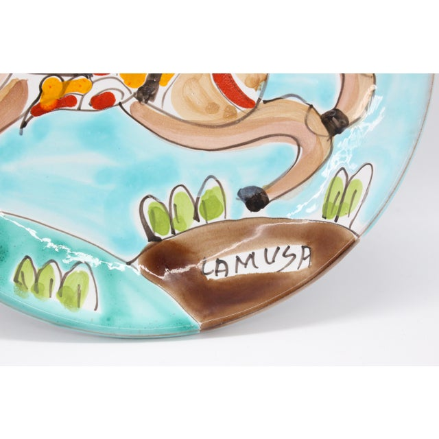 Ceramics La Musa, the bright sunny colors of Sicily. Featuring an array of colorful hand painted ceramics depicting...