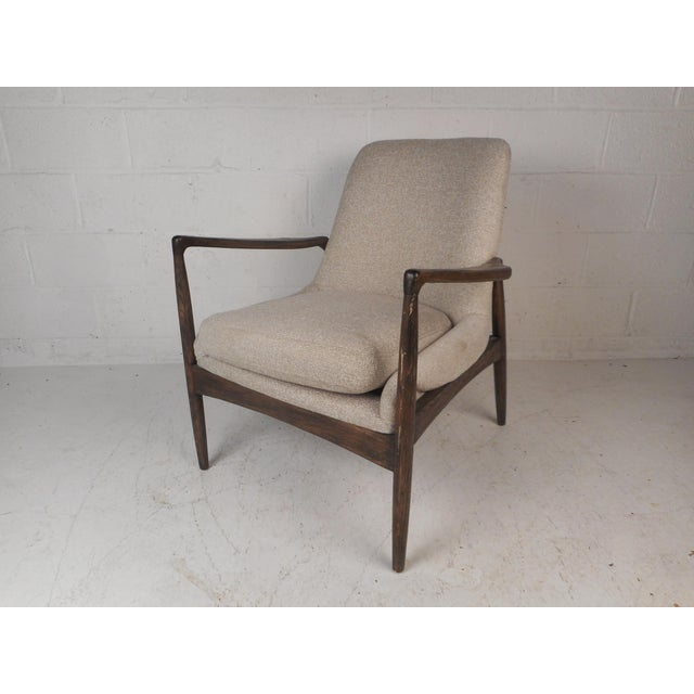 Contemporary Modern Lounge Chair For Sale - Image 10 of 10