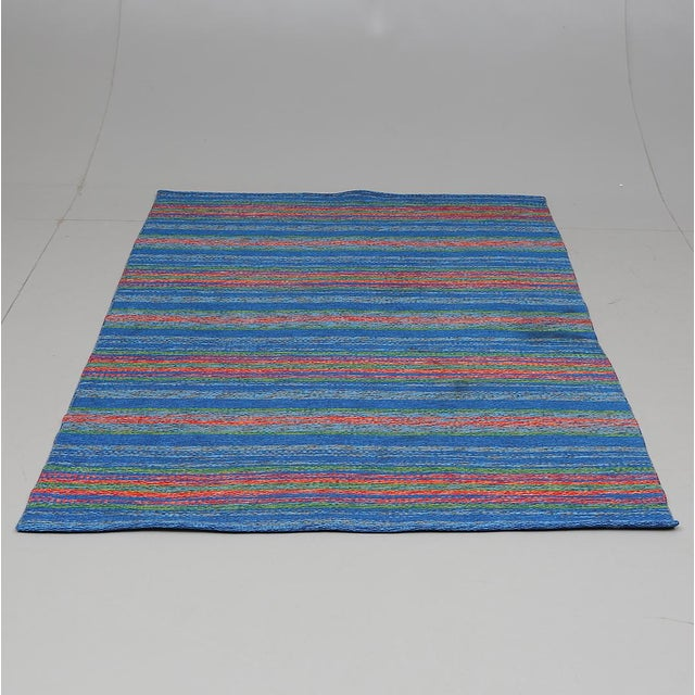 "Swedish Double Sided Rollakan Rug - 4'5"" X 6'5"" - Image 6 of 6"