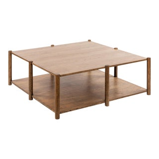 Loma Coffee Table - Large in Brown For Sale