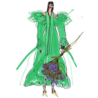 """msgm Resort 2020"" Limited Edition Print by Annie Naranian For Sale"