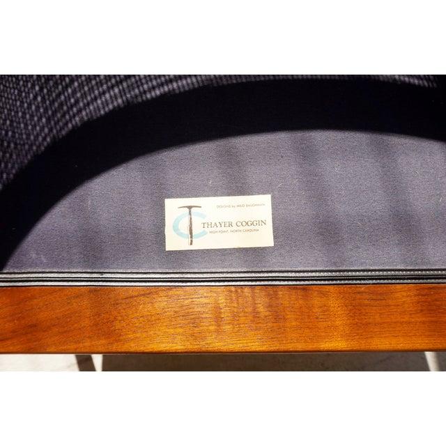 Milo Baughman Cane Back Lounge Chair - Image 6 of 6